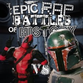 Deadpool vs. Boba Fett - Single cover art