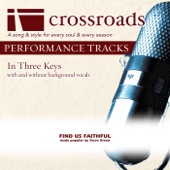 Find Us Faithful (Made Popular by Steve Green) [Performance Track]