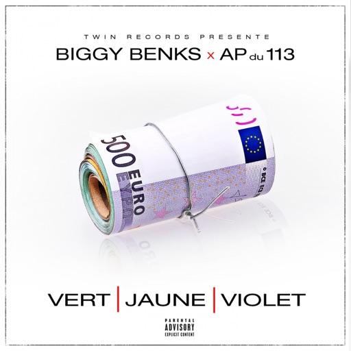 Vert jaune violet (feat. AP du 113) - Biggy Benks