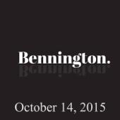Ron Bennington - Bennington, Kathleen Madigan, October 14, 2015  artwork