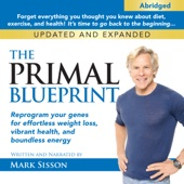 The Primal Blueprint: Reprogram Your Genes for Effortless Weight Loss, Vibrant Health, and Boundless Energy - Mark Sisson Cover Art