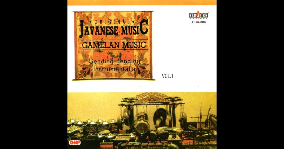 javanese gamelan music