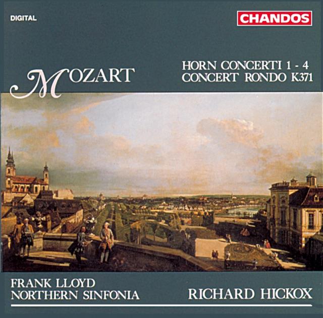 Mozart: Horn Concerti 1-4 & Concert Rondo Album Cover
