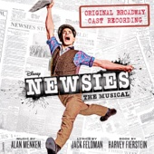 Newsies (Original Broadway Cast Recording) - Various Artists Cover Art