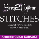 Stitches (Originally Performed by Shawn Mendes) [Acoustic Guitar Karaoke]