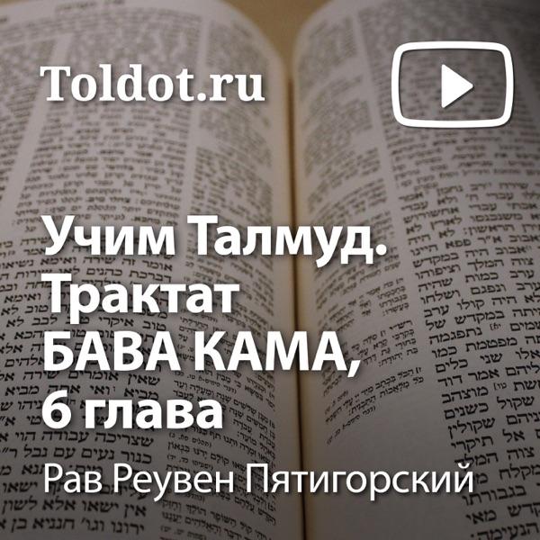 Рав Реувен Пятигорский  — Учим Талмуд. Трактат Бава Кама, 6 глава