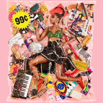 Santigold 99 cents - Album cover