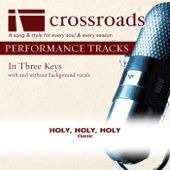 Holy, Holy, Holy (Performance Track without Background Vocals in C#)