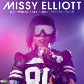 Missy Elliott - WTF (Where They From) [feat. Pharrell Williams]  artwork