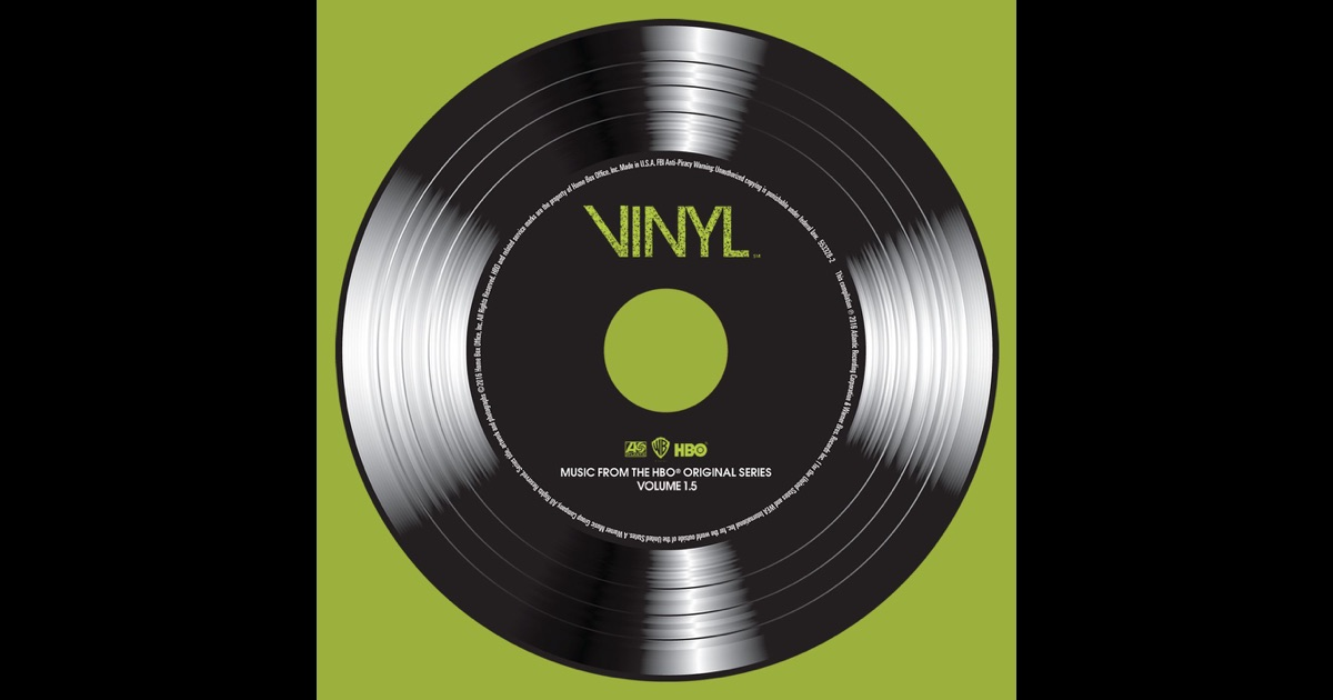 Vinyl Music From The Hbo 174 Original Series Vol 1 5 Ep