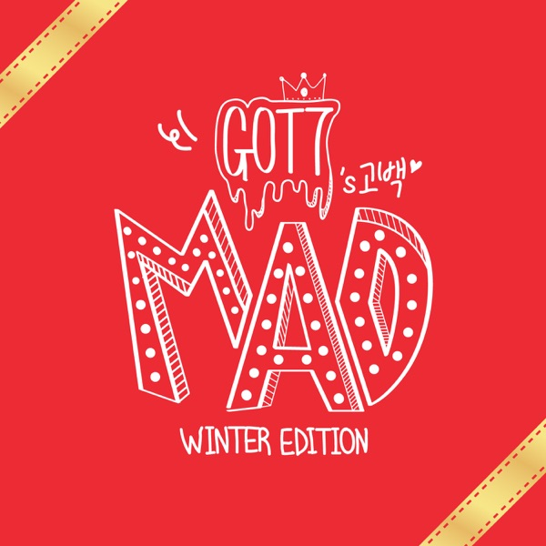 MAD Winter Edition GOT7 CD cover
