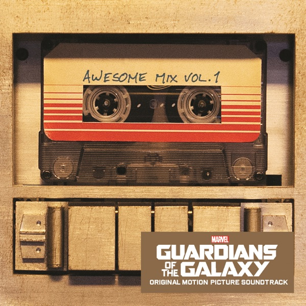 Guardians of the Galaxy Awesome Mix Vol 1 Original Motion Picture Soundtrack Various Artists CD cover