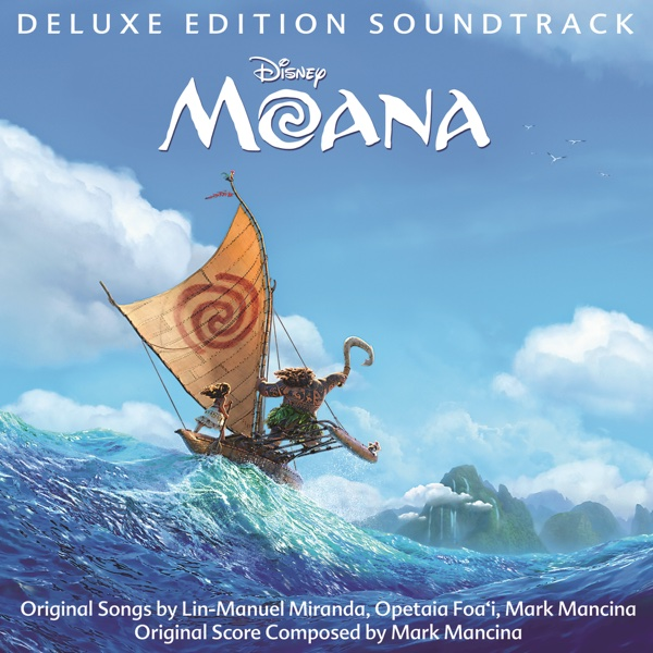 Moana Original Motion Picture Soundtrack Deluxe Edition Various Artists CD cover