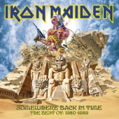 Somewhere Back In Time: The Best of 1980-1989 - Iron Maiden Cover Art
