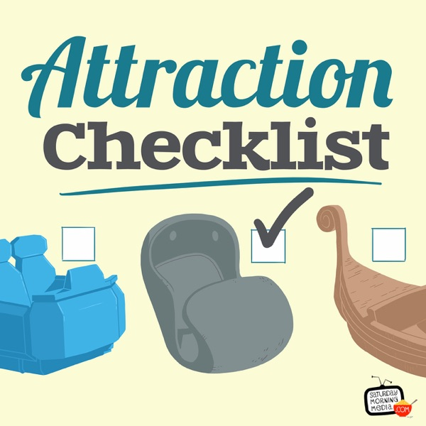 Attraction Checklist - Ride along on one Disney fan's quest to experience every attraction at Disneyland, Walt Disney World a