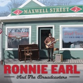 Maxwell Street - Ronnie Earl and The Broadcasters Cover Art