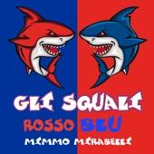 Gli squali rosso blu