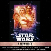 Star Wars: A New Hope (Original Motion Picture Soundtrack) - John Williams Cover Art