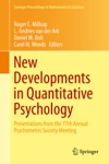 New Developments In Quantitative Psychology
