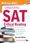McGraw-Hills Conquering SAT Critical Reading