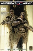 M. Zachary Sherman, Scott R. Brooks, J Brown, Brian Rood & Marshall Dillion - America's Army #10 - Point of Contact  artwork