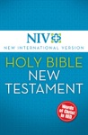NIV Holy Bible New Testament EBook Red Letter Edition