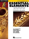 Essential Elements 2000 - Book 1 For E-flat Alto Saxophone Textbook