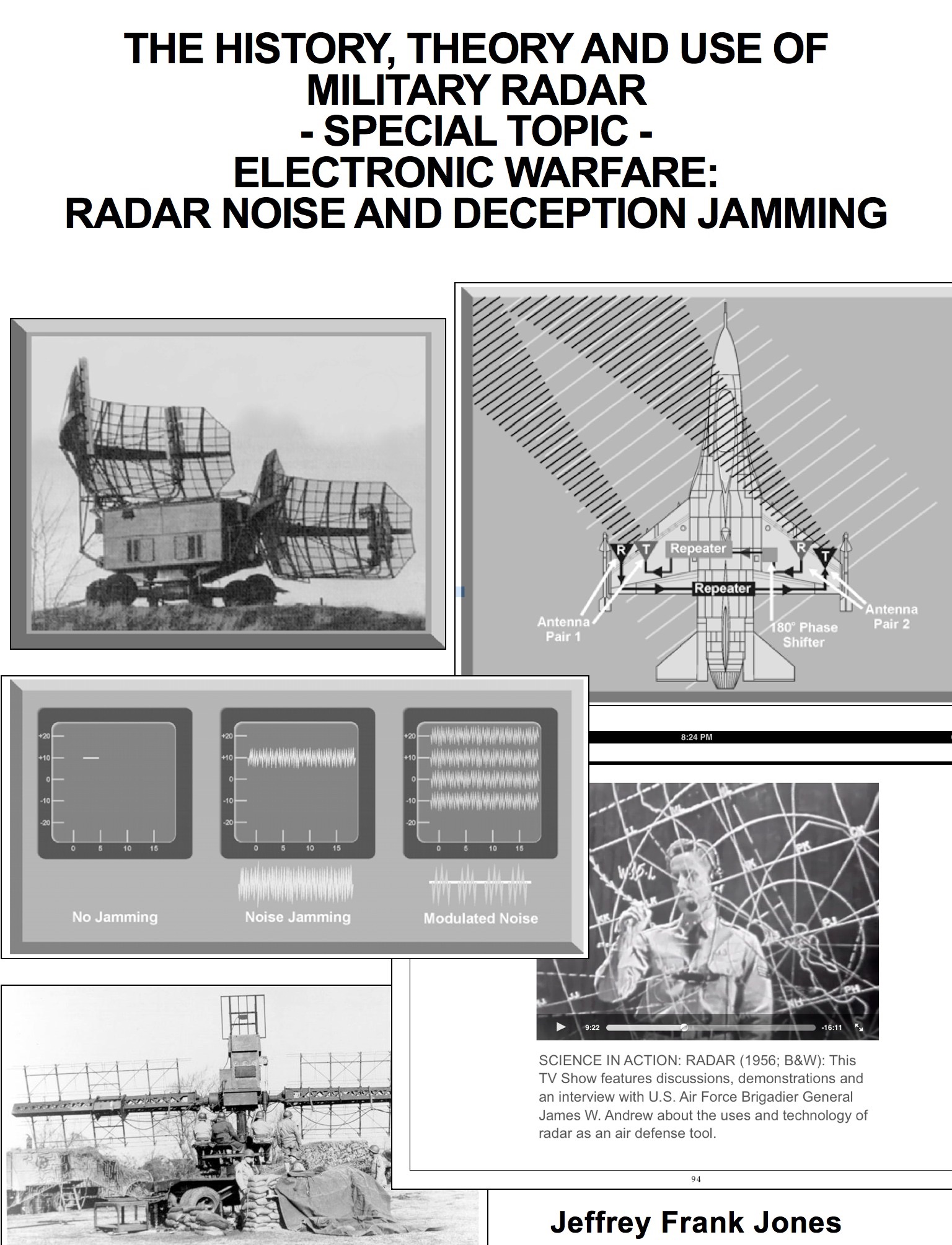 the history and use of radar Abstract the first part of a history of the use of storm surveillance radars by operational military and civil weather services in the united states is presented the history of radar meteorological research is long and distinguished but already well described.