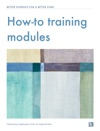 How-to Training Modules