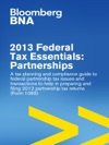 2013 Federal Tax Essentials Partnerships