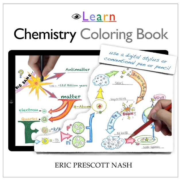chemistry coloring book by eric prescott nash on ibooks - Chemistry Coloring Book
