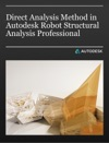 Direct Analysis Method In Autodesk Robot Structural Analysis Professional