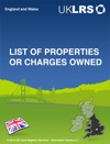 Lists Of Properties And Charges Owned
