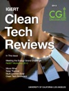 2013 IGERT Clean Tech Reviews