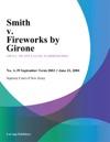 Smith V Fireworks By Girone