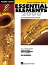 Essential Elements 2000 - Book 1 For B-flat Tenor Saxophone Textbook