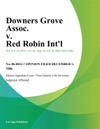 Downers Grove Assoc V Red Robin Intl