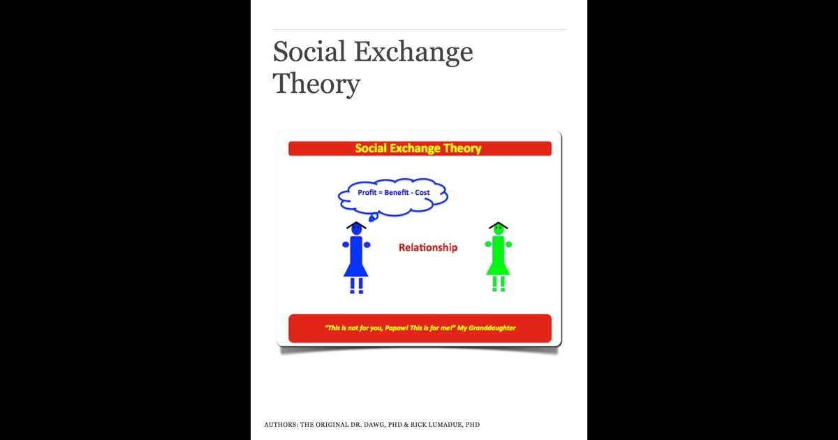 application of social exchange theory in Social exchange theory grew out of the intersection of economics, psychology   borrowed theory - applying exchange theories in information science research.