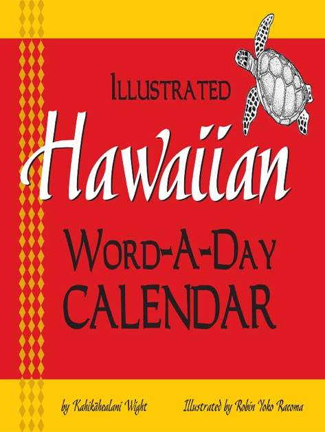 word of the day calender