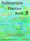 Subtraction Practice Book 3 Grade 3