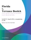 Florida V Terrance Bostick