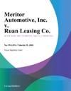 Meritor Automotive