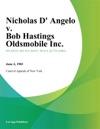 Nicholas D Angelo V Bob Hastings Oldsmobile Inc