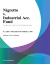 Nigretto V Industrial Acc Fund