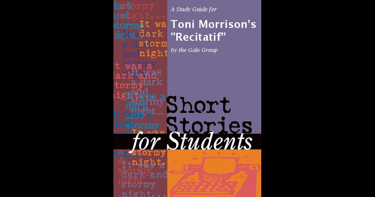 An analysis of 1920 a short story by toni morrison