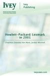 Hewlett-Packard Lexmark In 2001