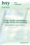 Dollar Thrifty Automotive Group Online Discounting