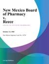 New Mexico Board Of Pharmacy V Reece