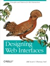 Designing Web Interfaces