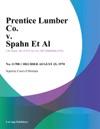 Prentice Lumber Co V Spahn Et Al